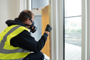 Window and Door Frames Undetectable Repairs Refinishing Touch