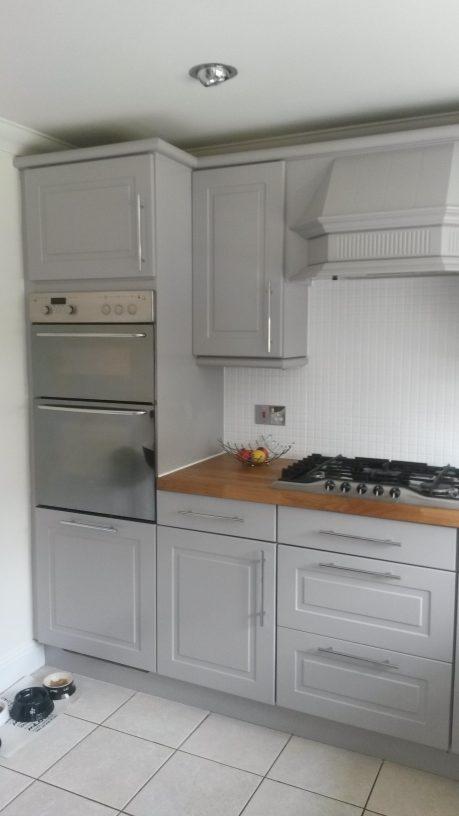 Kitchen Door Spraying
