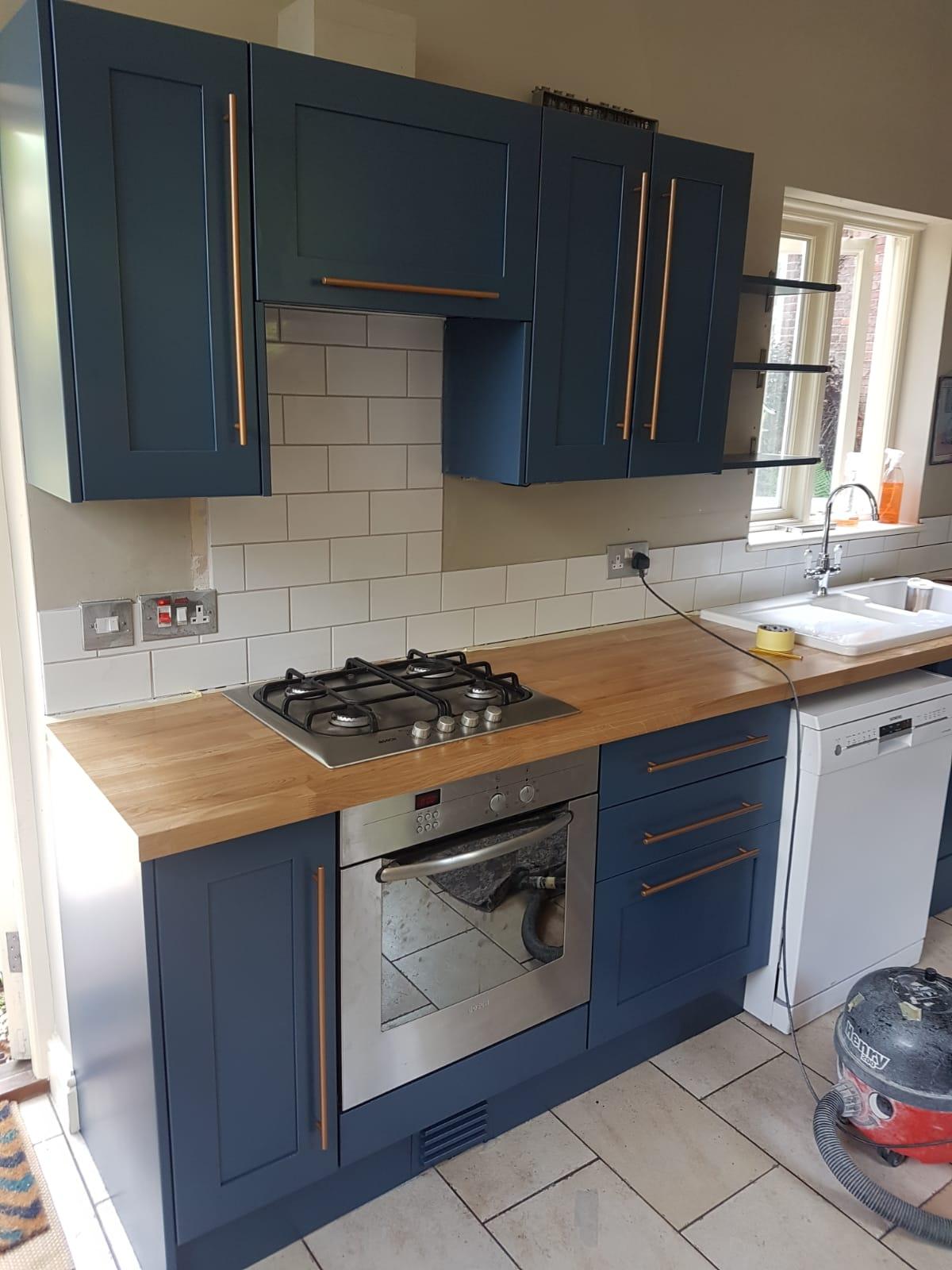 Kitchen Refurbishment Case Study Refinishing Touch